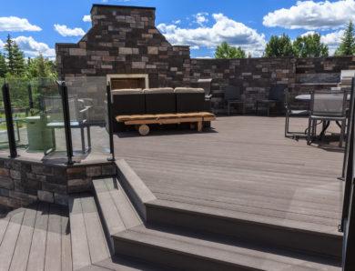 Calgary Landscaping Portfolio Of Lynx Ridge Yard