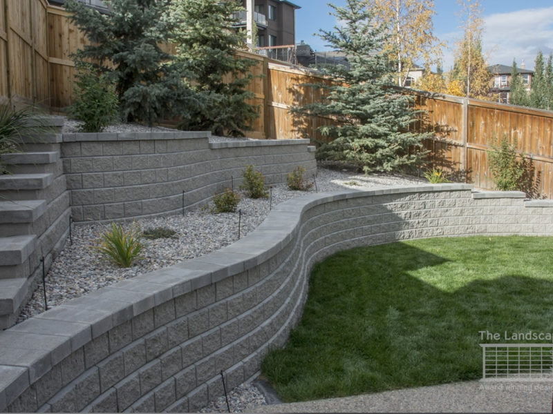 Retaining Walls Ideas By The Landscape Artist