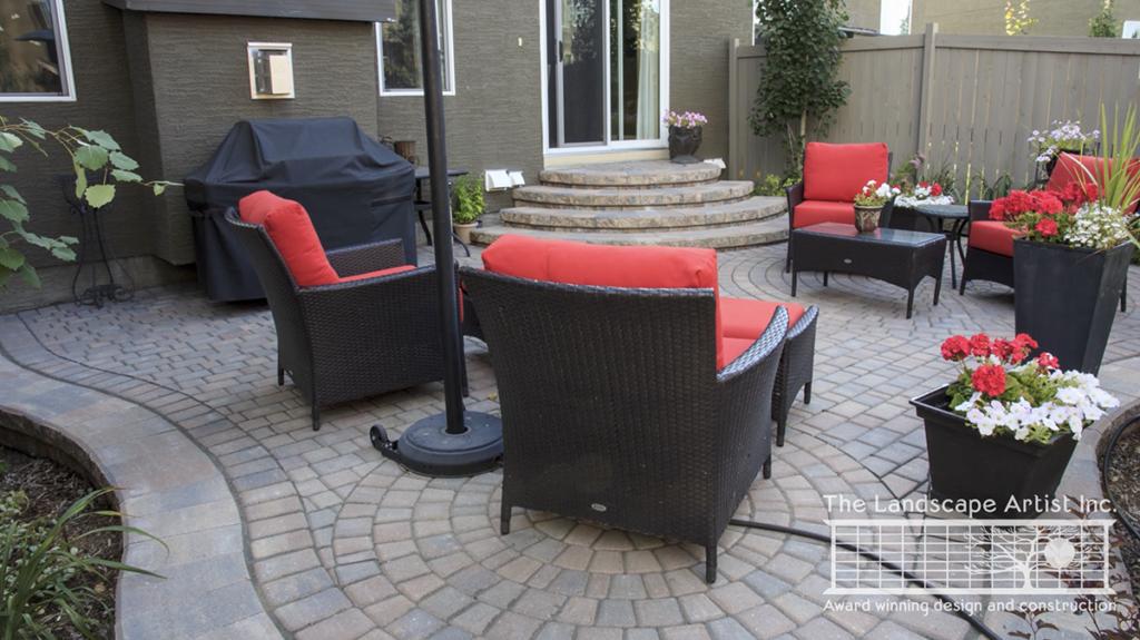 Small Backyard Patio Landscape Design