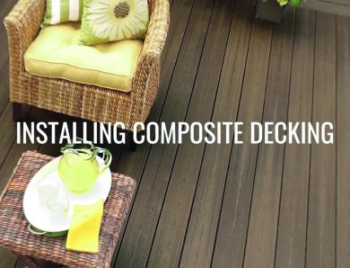 Installing Composite Decking with Mountain View Building Materials